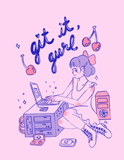 git it gurl t-shirt (pre-order, ships september!)
