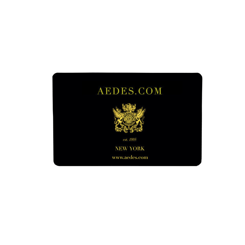 Aedes Gift Card | Aedes Perfumery | Aedes.com