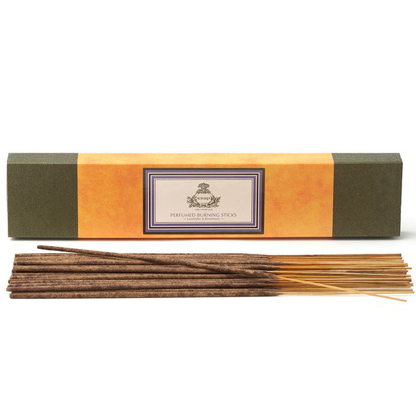 Lavender & Rosemary - Perfumed Burning Sticks (40 sticks) by Agraria