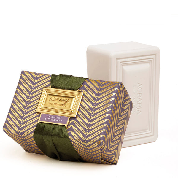 Lavender & Rosemary Bath Soap Bar |Agraria Home Collection| Aedes.com