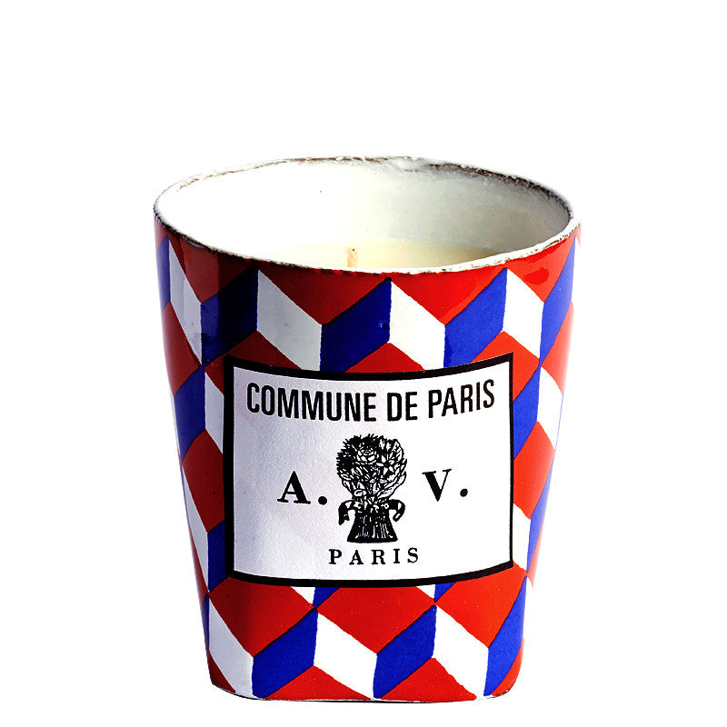 Tricolore Porcelaine Commune de Paris - Candle by Astier de Villatte
