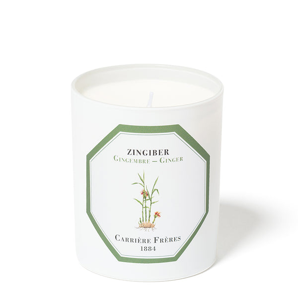 Gingembre - Ginger  Candle 6.5oz by Carriere Freres