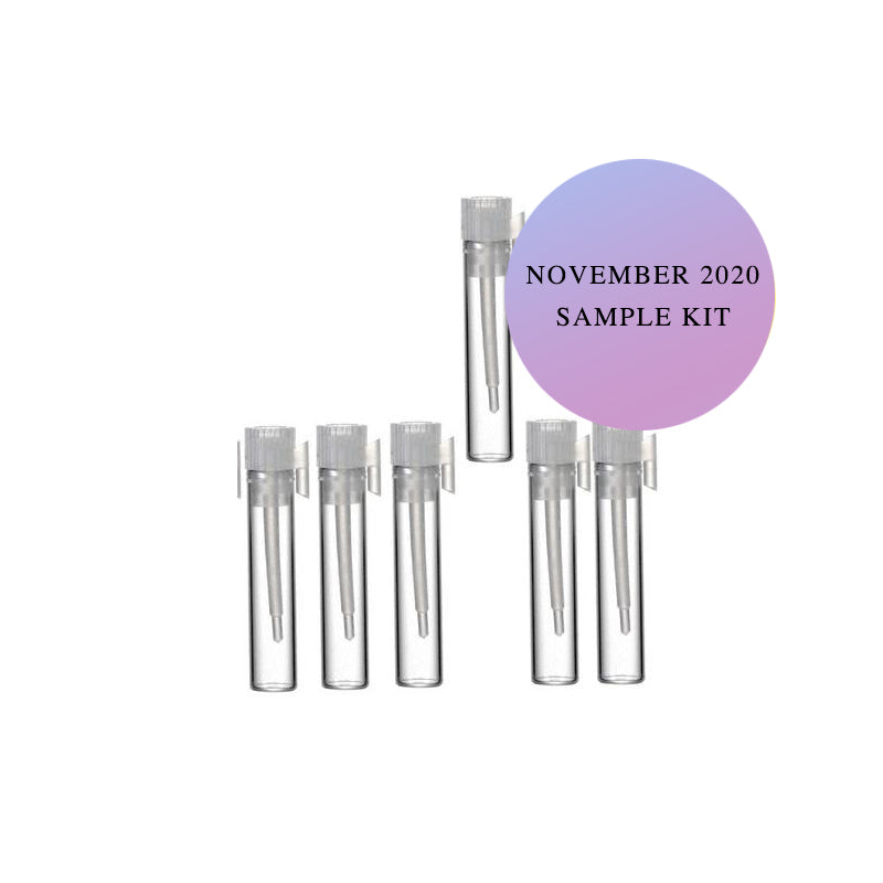 November 2020 Arrival - Sample Pack