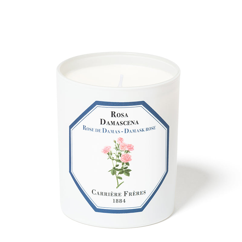 Rose de Damas - Damask Rose Candle 6.5oz by Carriere Freres