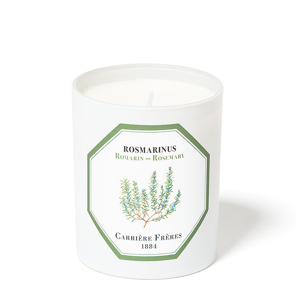 Rosmarin - Rosemary Candle 6.5oz by Carriere Freres