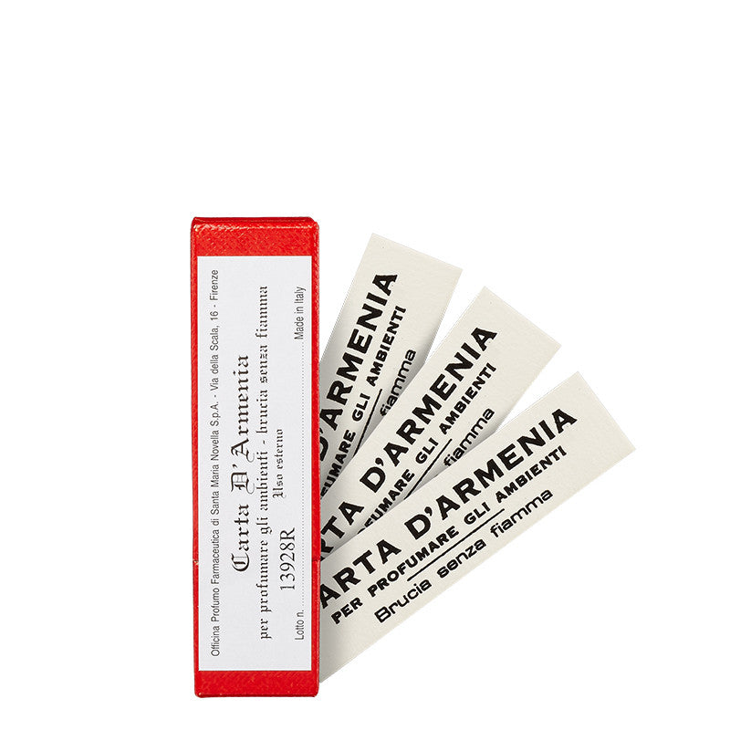 Carta d'Armenia - Armenian Burning Paper (Box of 18) by Santa Maria Novella