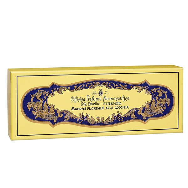 Floral Cologne Soap - Box of 4 by Santa Maria Novella