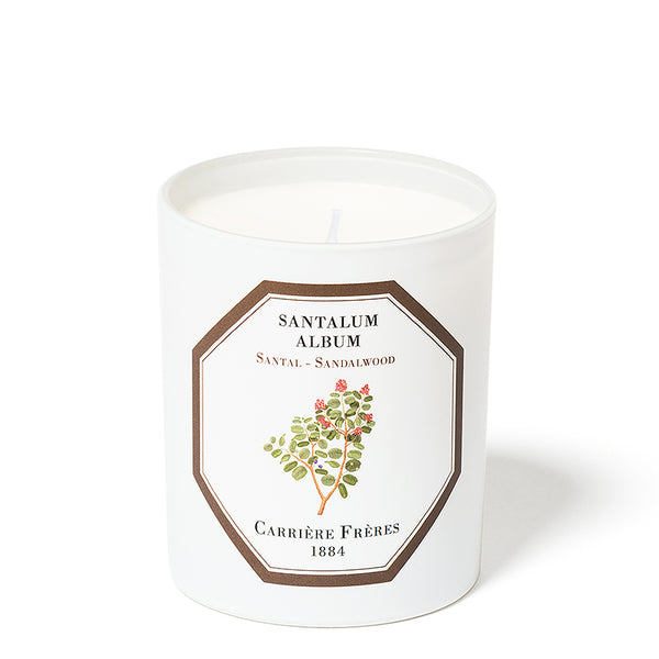 Santal - Sandalwood Candle 6.5oz by Carriere Freres