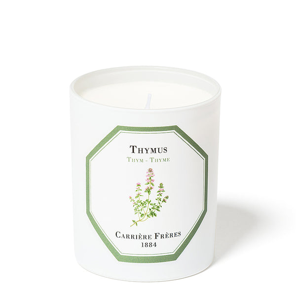 Thym - Thyme  Candle 6.5oz by Carriere Freres