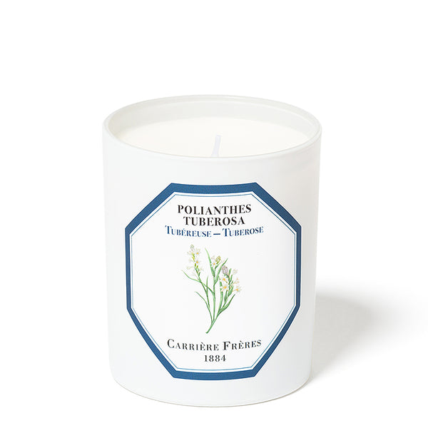 Tubéreuse - Tuberose Candle 6.5oz by Carriere Freres