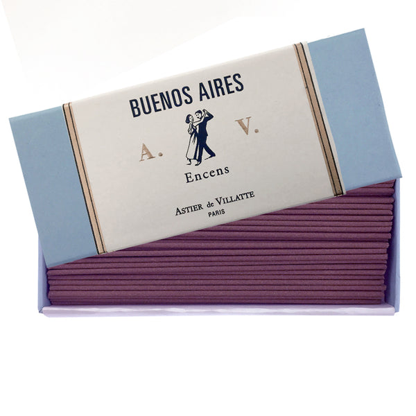 Buenos Aires Incense Box of 125 sticks by Astier de Villatte