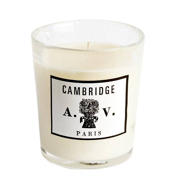 Cambridge - Candle (glass) 8.3oz by Astier de Villatte