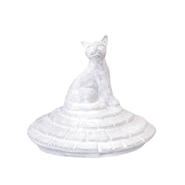 Grand Chalet Cat Candle Lid by Astier de Villatte