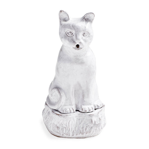 Setsuko Cat Incense Burner | Astier de Villatte Collection | Aedes.com
