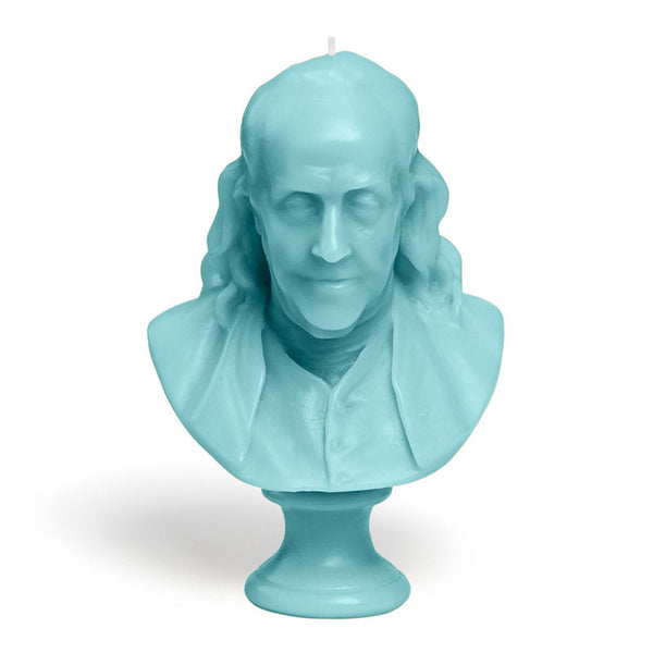 Bust Candle Collection Benjamin Franklin - Candle 17oz by Cire Trudon