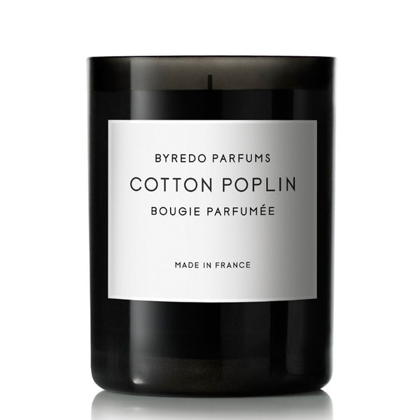 Cotton Poplin- Candle 8.4oz by Byredo