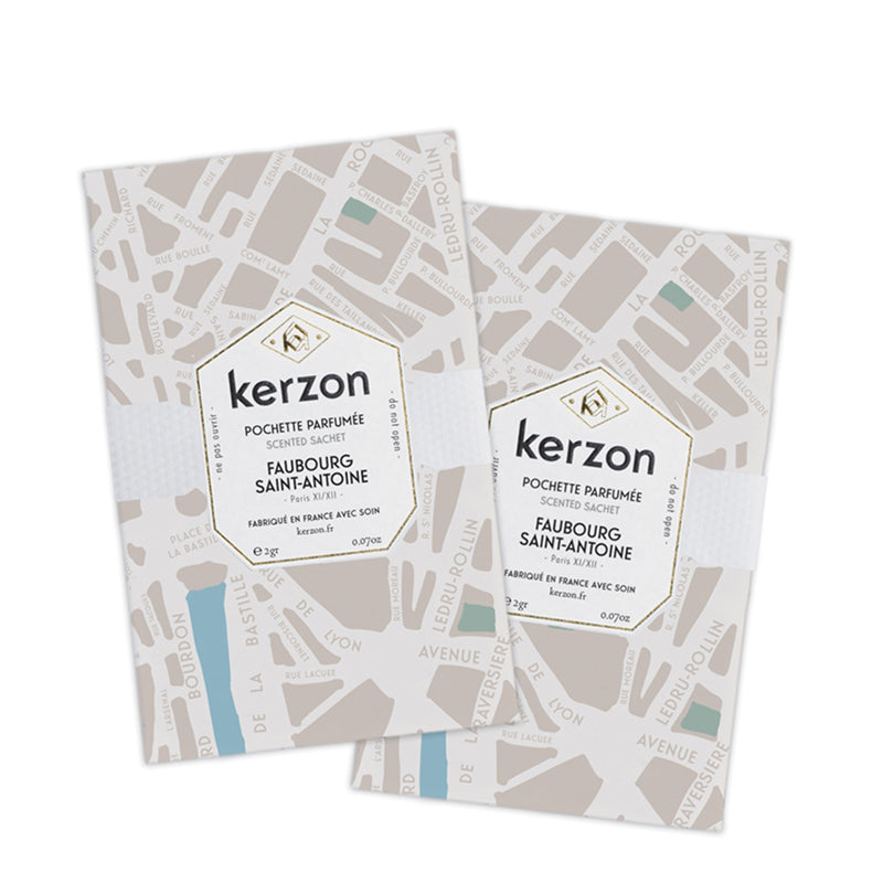 Faubourg Saint Antoine - Sachet Set of 2 by Kerzon