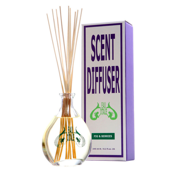 Fig & Berry - Fragrance Diffuser Sticks 8.2oz by Eau d'Italie