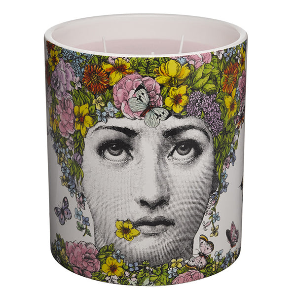 Flora di Fornasetti - Large 3-Wick Candle 67oz by Fornasetti