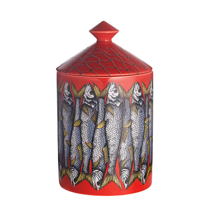 Sardine Rosso - Candle 10.5oz by Fornasetti