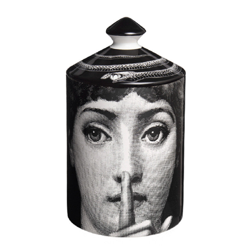 Silenzio - Candle 10.5oz by Fornasetti
