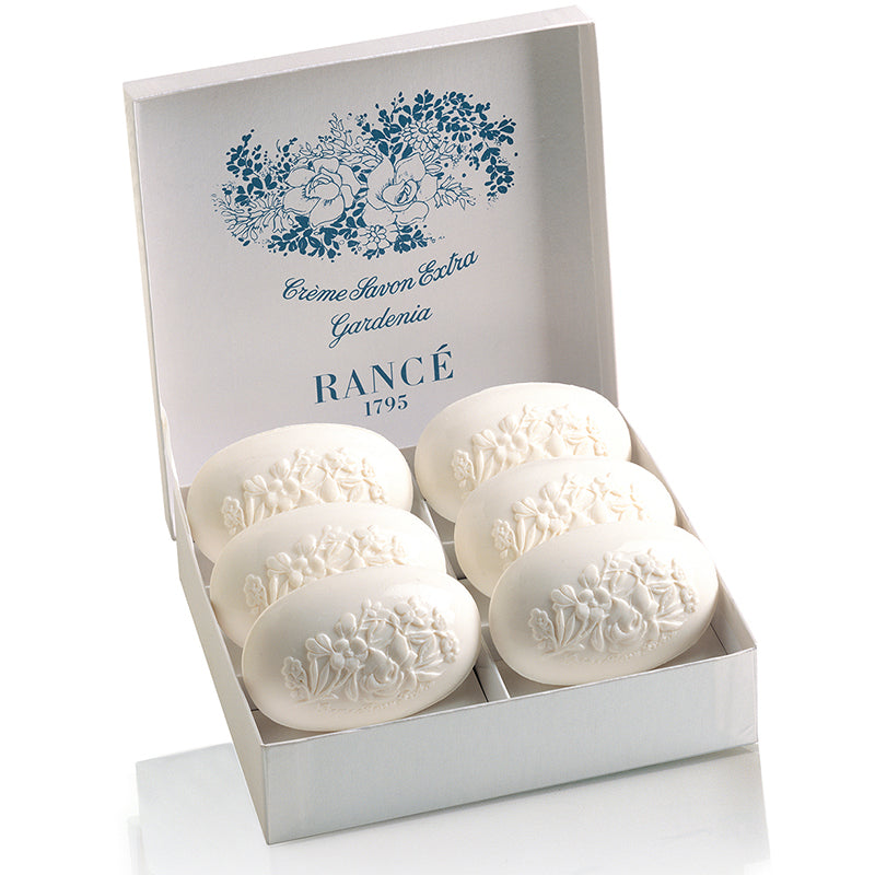 Gardenia - Soap Set 6 x 100gr Rancé