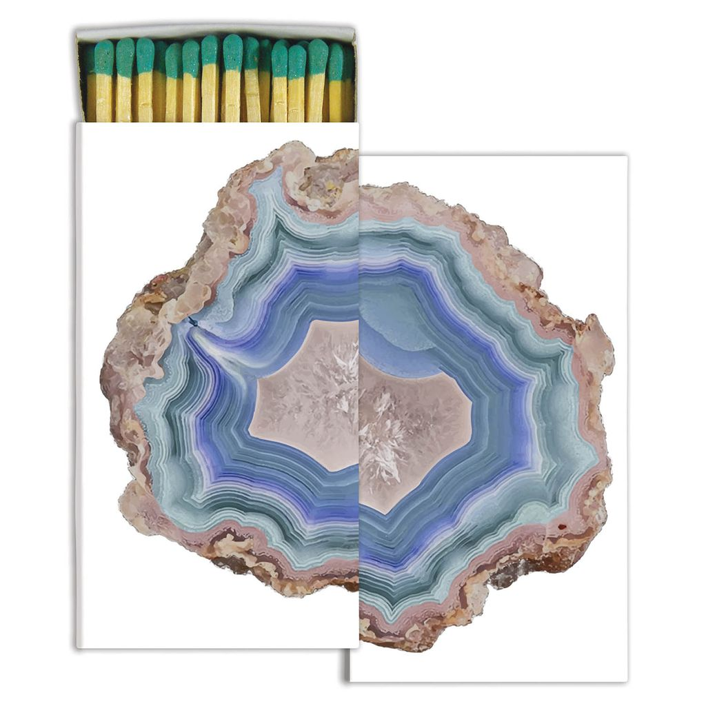 Blue Agate - Matches