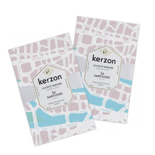 Ile Saint Louis - Sachet Set of 2 by Kerzon