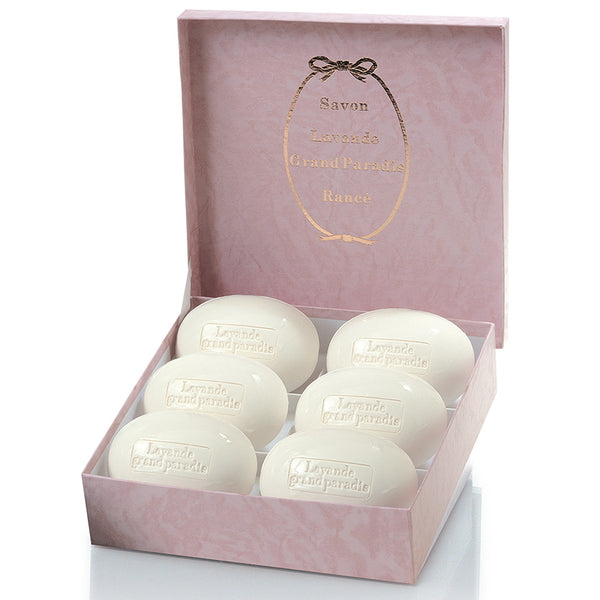 Lavande Grand Paradis - Soap Set 6 x 220gr by Rancé