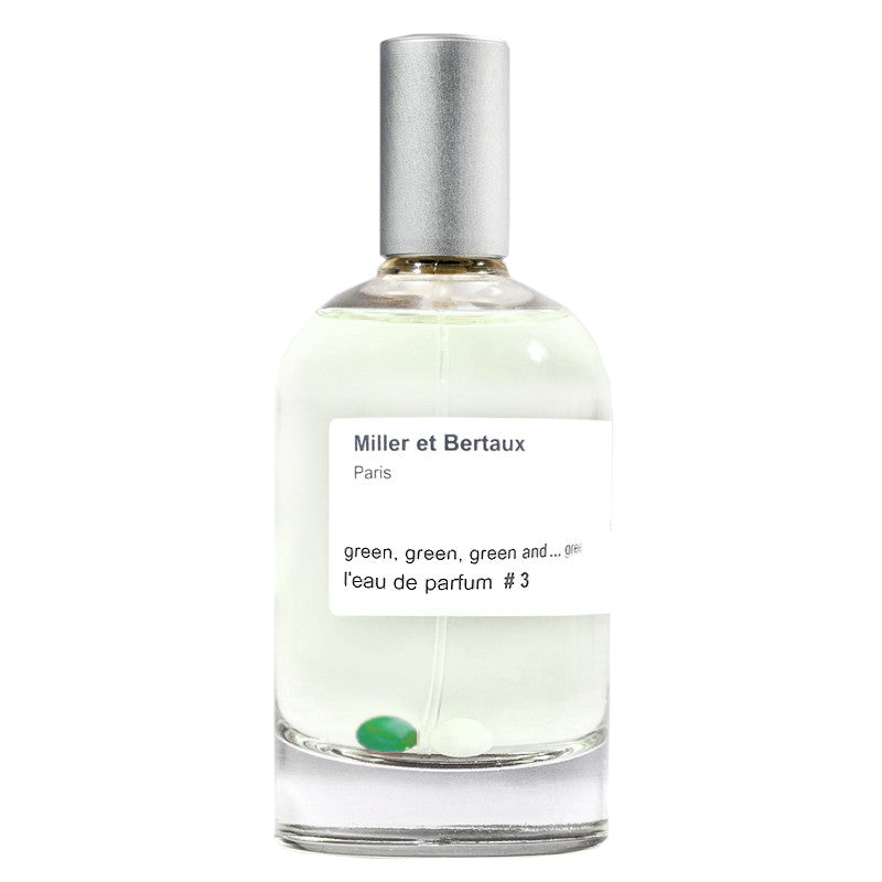 Green, green, green and ...green No.3  - Eau de Parfum 3.4oz by Miller et Bertaux