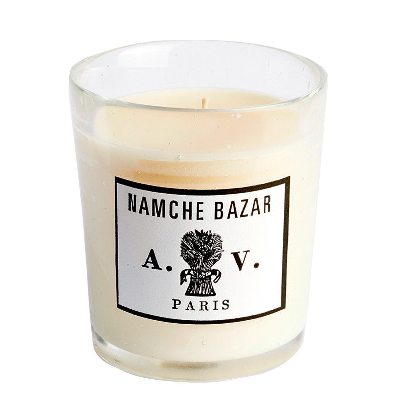 Namche Bazaar - Candle (glass) 8.3oz by Astier de Villatte