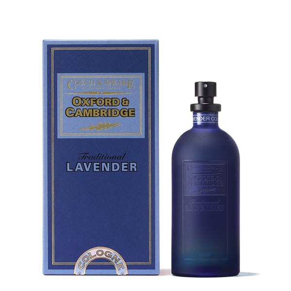 Oxford & Cambridge - Traditiona Lavender Eau de Cologne Czech & Speake