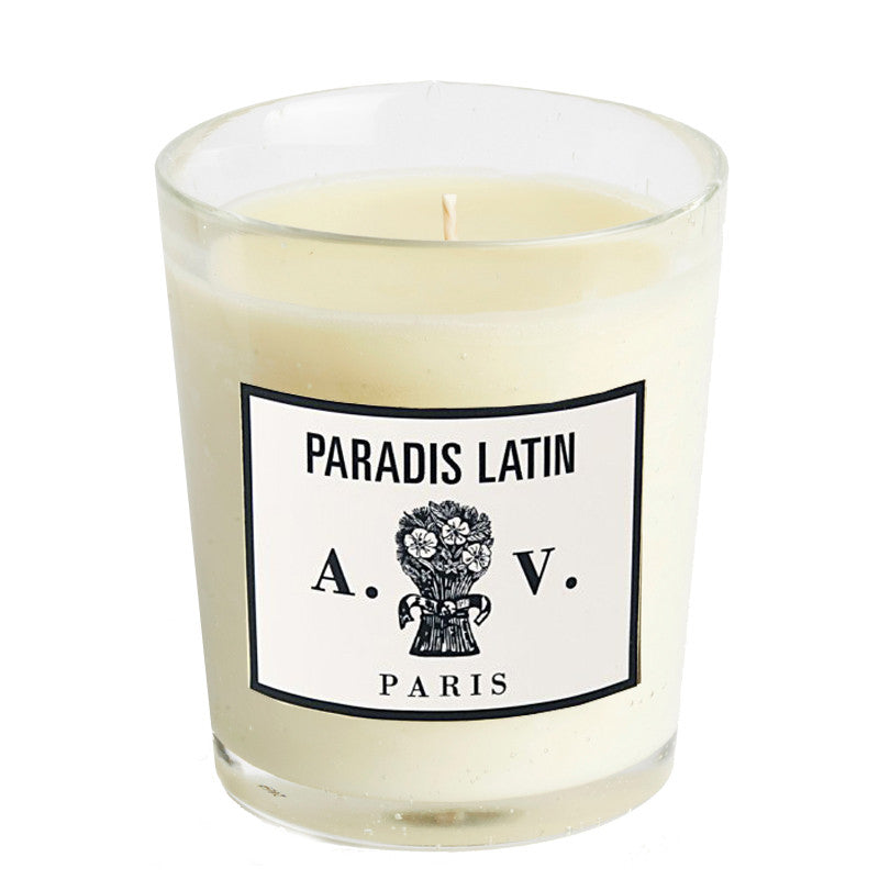 Paradis Latin Candle | Astier de Villatte Paris Collection | Aedes.com