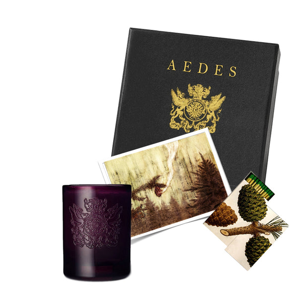 Aedes Gift Box Set | Phoenicis Candle & Matches | Aedes.com