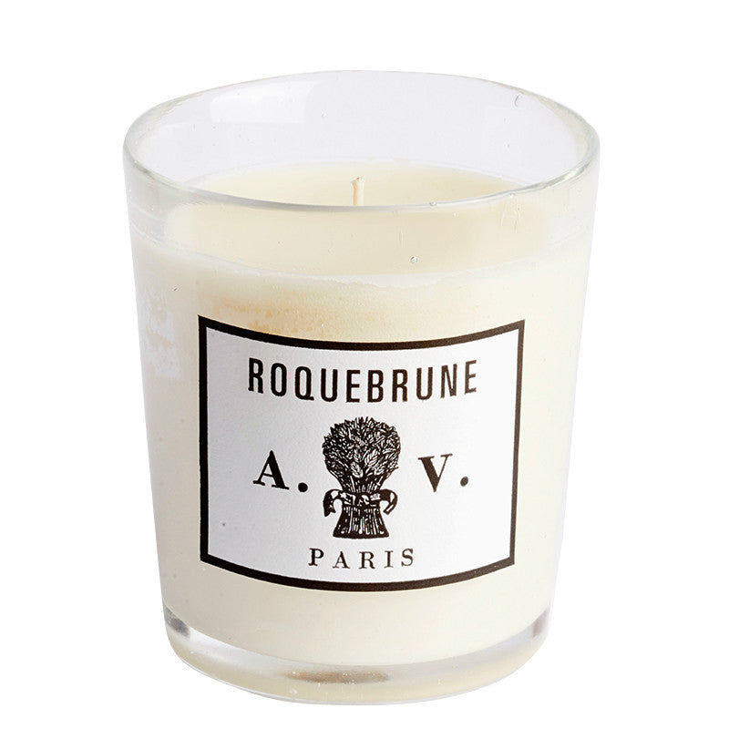 Roquebrune - Candle (glass) 8.3oz by Astier de Villatte