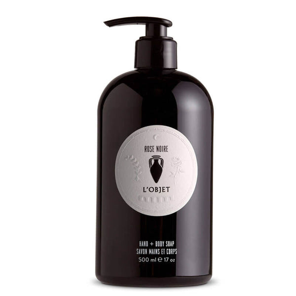 Rose Noir - Liquid Soap for Hand & Body 17oz by L'Objet