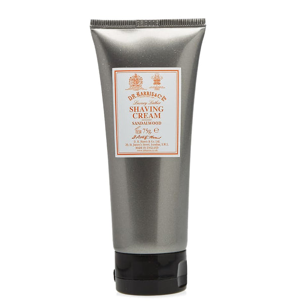 Sandalwood Shaving Cream Tube 2.6oz by D.R. Harris
