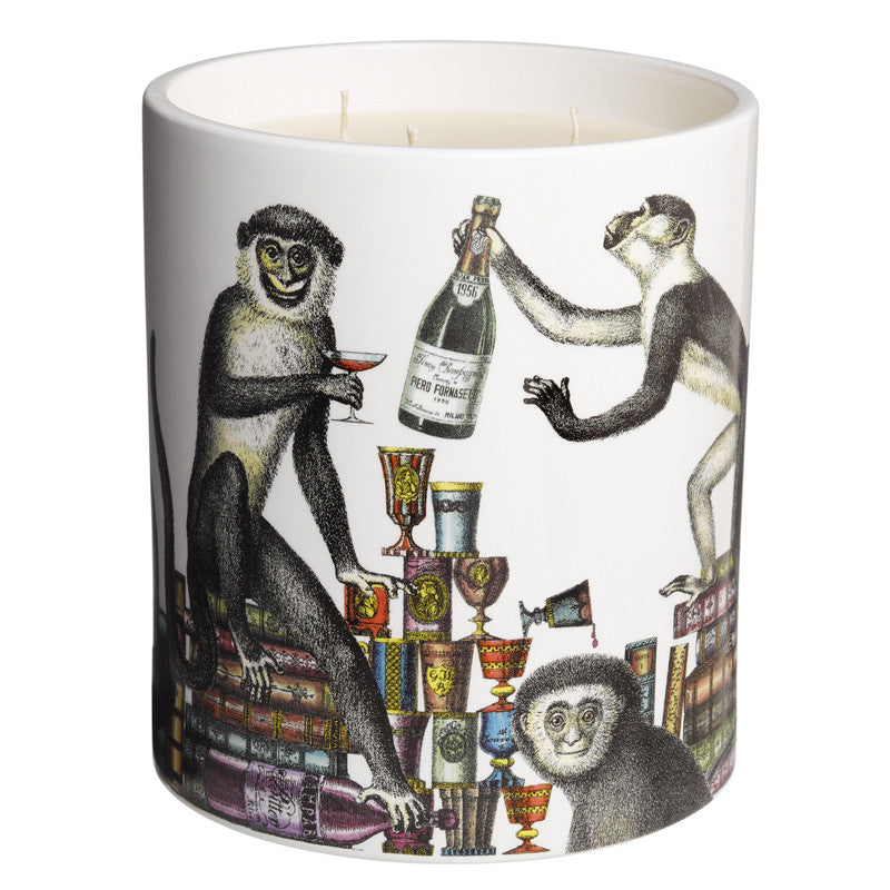 Scimmie - Large 3-Wick Candle 67oz by Fornasetti