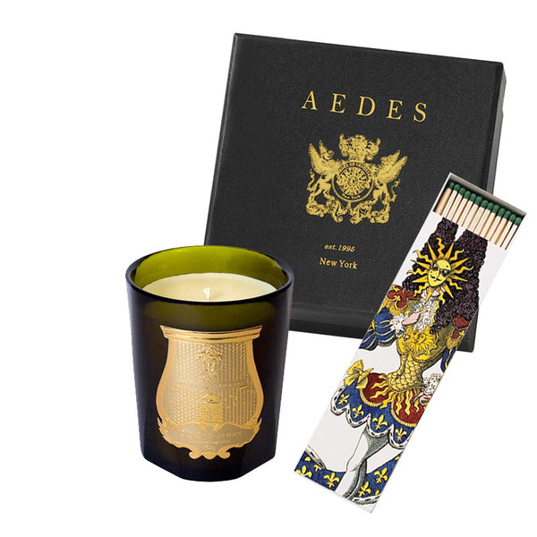 Holiday Box Solis Rex - Candle 9.5oz & Scented Matches