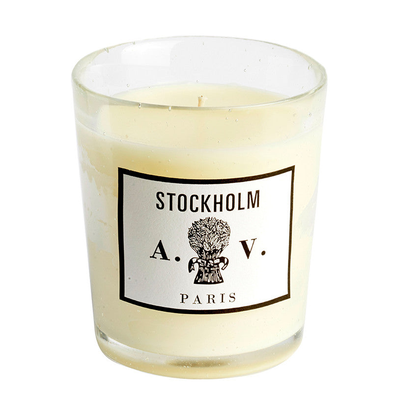Stockholm - Candle (glass) 8.3oz by Astier de Village