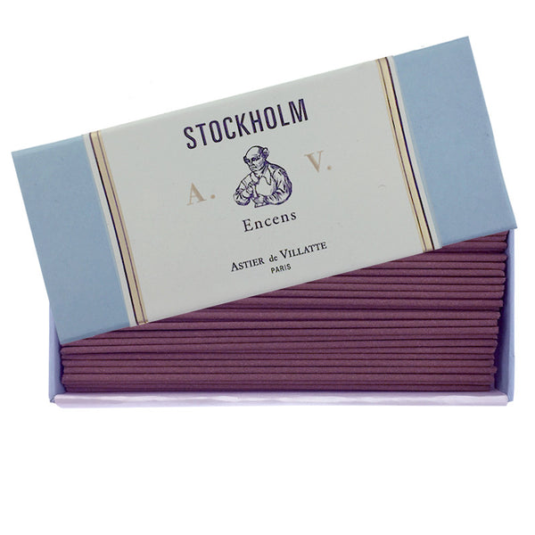 Stockholm - Incense Box (120 sticks)  by Astier de Villatte