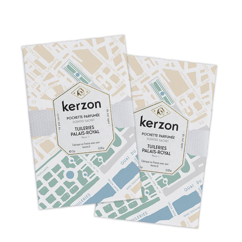 Tuileries Palais Royal - Sachet Set of 2 by Kerzon