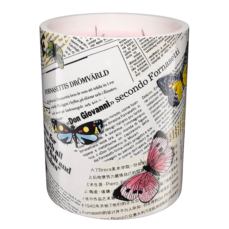 Ultime Notizie - 3-Wick Candle 31.7oz Fornasetti