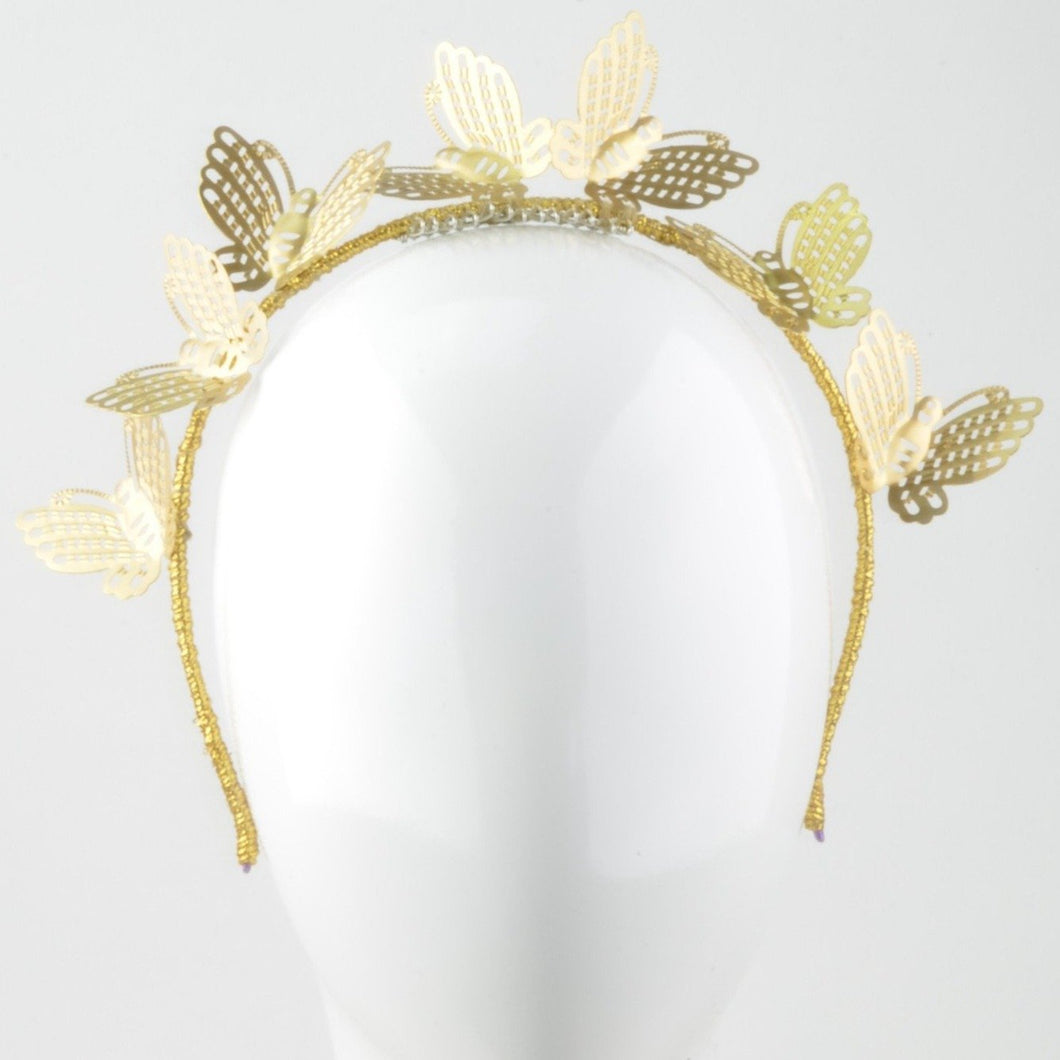Butterfly Kisses (gold)