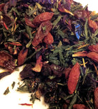 Sakura Berry  Blossom Green Loose Leaf Tea -USA MADE WITH CARE