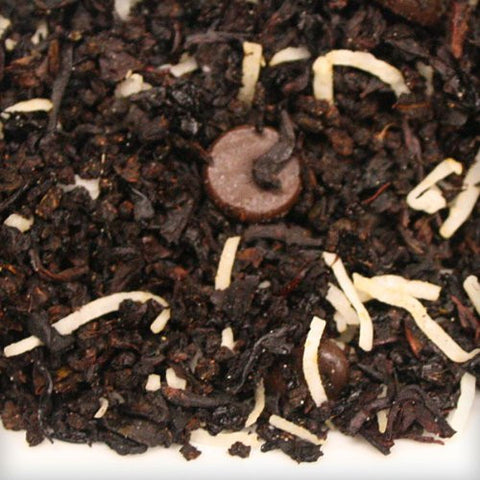 Chocolate Coconut Dessert Tea - Organic Balinese Fuji Black Loose Leaf Tea
