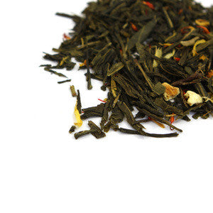 Tangerine Dream Green Organic Panfired Loose Leaf Tea