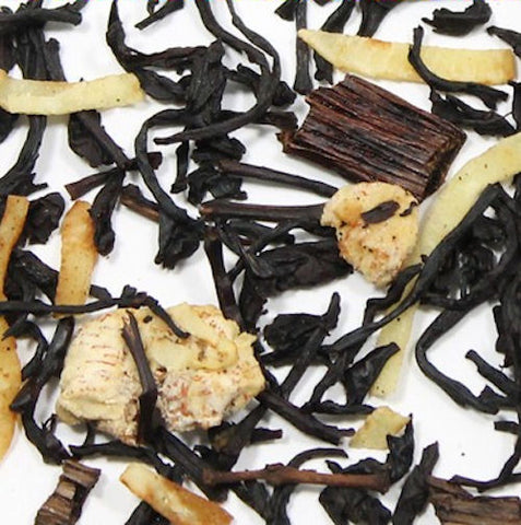 Creamy Coconut Vanilla Bean -Balinese Fuji Black Loose Leaf Tea