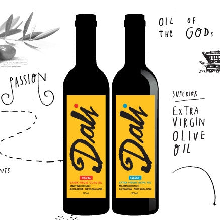 Dali Extra Virgin Olive Oil Picual 375ml