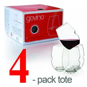 Govino Red Wine Glass 4 Pack